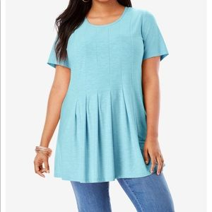 Roaman's light blue tee 22/24 1X